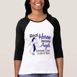 T-shirt Les héros deviennent SAL d'anges
