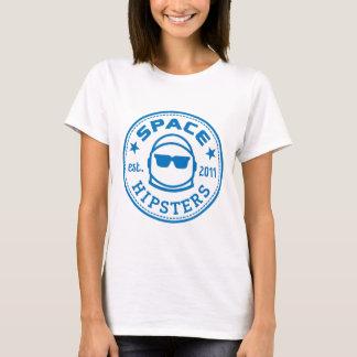 T-shirt Les hippies de l'espace des femmes ont renversé la