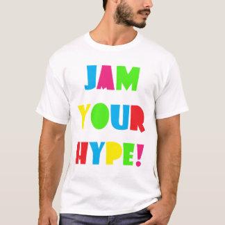 T-shirt Les hommes bloquent votre exagération de base