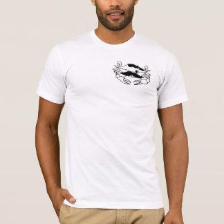 T-shirt Les hommes court-circuitent la douille