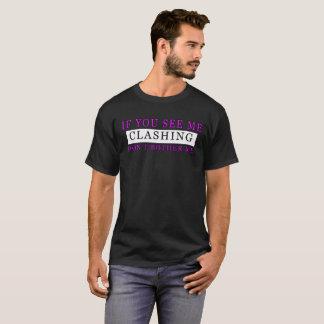 T-shirt Les hommes si vous me voyez m'opposer ne font pas