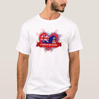 T-shirt Les Îles Caïman d'amour du cru I