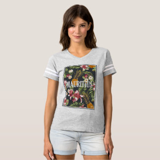 T-shirt Les Îles Maurice