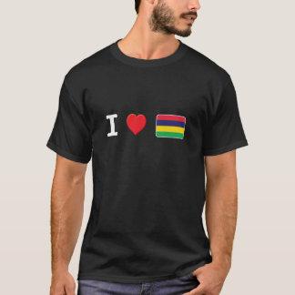 T-shirt Les Îles Maurice W micro