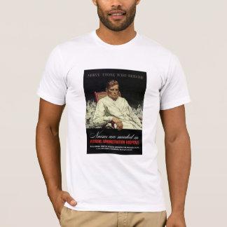 T-shirt Les infirmières sont nécessaires -- 2ÈME GUERRE