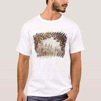 T-shirt Les jardins du château de Windsor