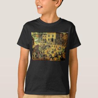 """T-shirt Les """"jeux des enfants"""" de Pieter Bruegel - 1560"""