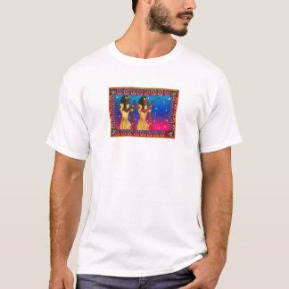 T-shirt Les jumeaux égyptiens par Karen chipe le studio