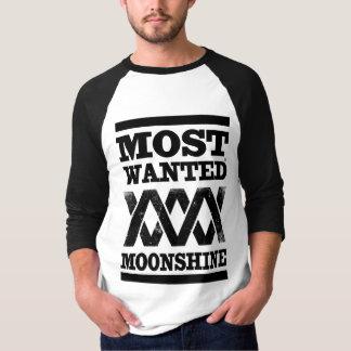 T-shirt Les la plupart ont voulu alcool illégal