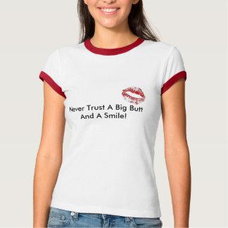 T-shirt les lèvres, ne font jamais confiance à un grand