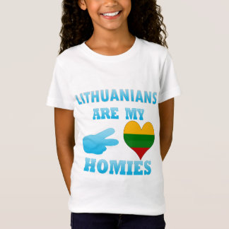 T-Shirt Les Lithuaniens sont mon Homies