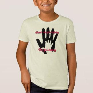 T-Shirt Les mains sont pour l'aide