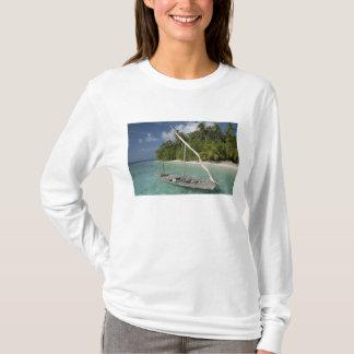 T-shirt Les Maldives, atoll masculin du nord, île de Kuda
