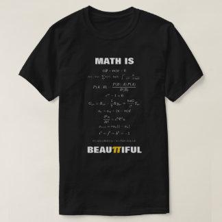 T-shirt Les maths sont de belles 11 équations