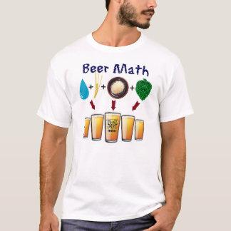 T-shirt Les maths T de bière du club de bière de