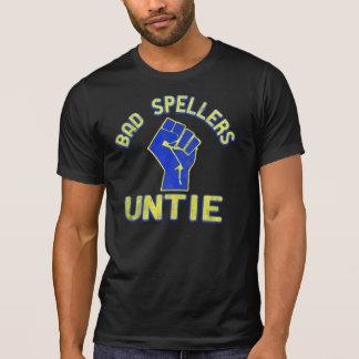 T-shirt Les mauvais correcteurs orthographiques unissent !