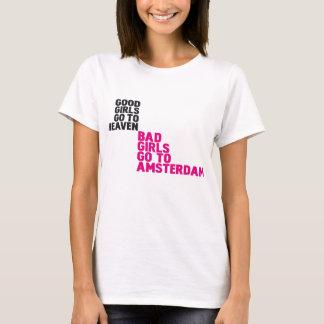 T-shirt Les mauvaises filles vont à Amsterdam