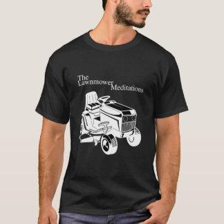 T-shirt Les méditations de tondeuse à gazon (foncées)