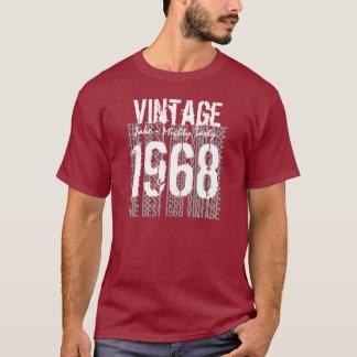 T-shirt Les meilleur 1968 cadeaux d'anniversaire vintages