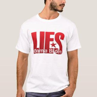 T-shirt Les mensonges, mensonges, se trouve - Obama Biden