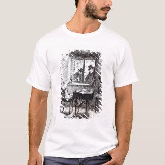 T-shirt Les moines et le juif découvrent Oliver