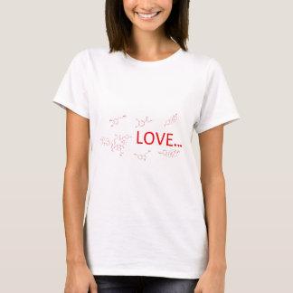 T-shirt Les molécules de l'amour…