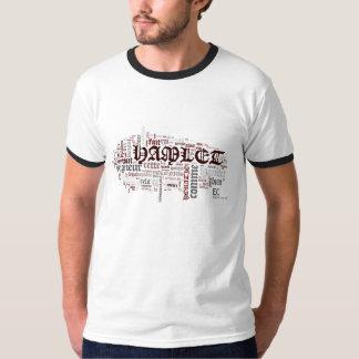 T-shirt Les mots de Hamlet