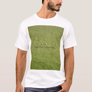 T-shirt Les moutons rendent le ciel pelucheux