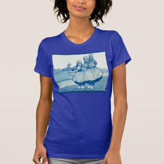 T-shirt Les Néerlandais vintages conçoivent, 1905, famille