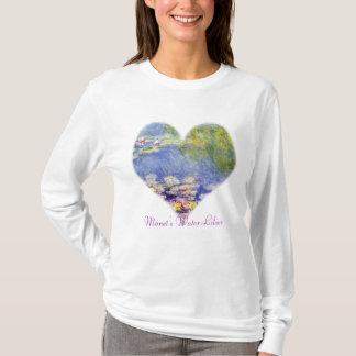 T-shirt Les nénuphars de Monet