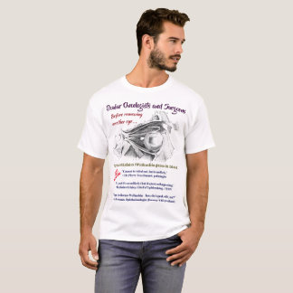 T-shirt Les oncologistes/chirurgiens oculaires R/O