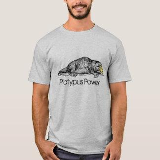 T-shirt Les ornithorynques actionnent l'individualité