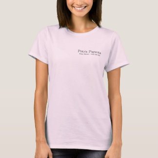 T-shirt Les perroquets de Peter - édition exotique
