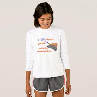 T-shirt Les personnes de gingembre sont les licornes