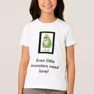 T-shirt Les petits monstres ont besoin d'amour aussi !