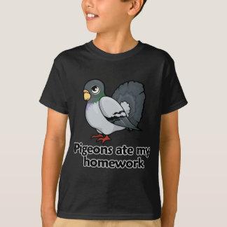 T-shirt Les pigeons ont mangé mon travail