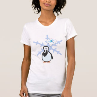 T-shirt Les pingouins rêvent-ils de la physique nucléaire
