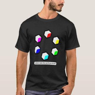 T-shirt Les pixels font le monde circuler