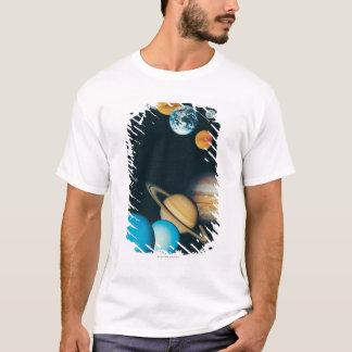 T-shirt Les planètes