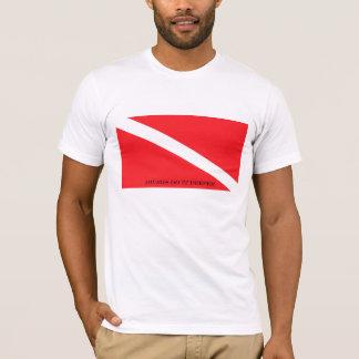 T-shirt Les plongeurs le font plus profond