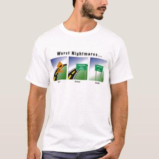 T-shirt Les plus mauvais cauchemars