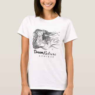 T-shirt Les poissons de chien de lutin que le rêve de |