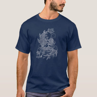 T-shirt Les poissons de Koi