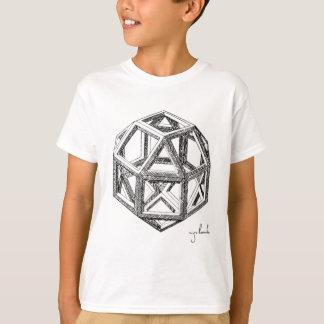 T-shirt Les polyèdres de Leonardo