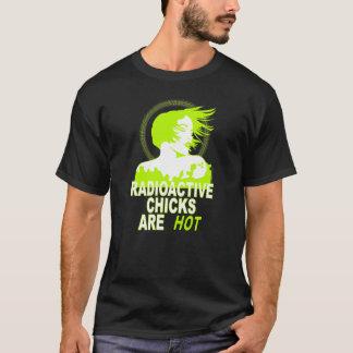 T-shirt Les poussins radioactifs sont chauds