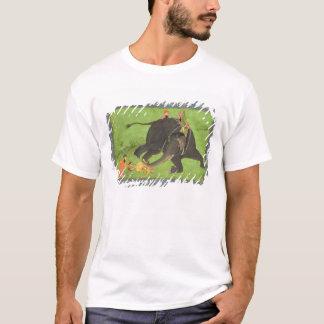 T-shirt Les préposés secourent un homme tombé d'un ele