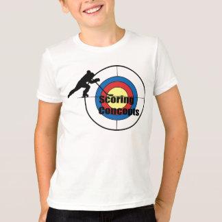 T-shirt Les produits de l'enfant de marquage de concepts