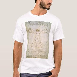 T-shirt Les proportions du chiffre humain