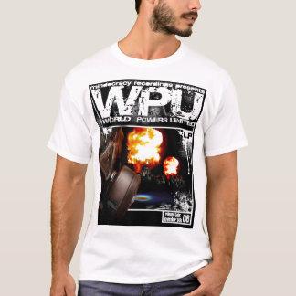 T-shirt Les puissances mondiales d'enregistrements de