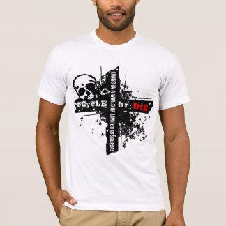 T-shirt Les ressources limitées réutilisent à travers la